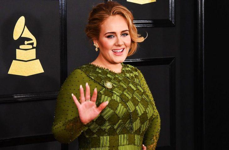 Adele smiling