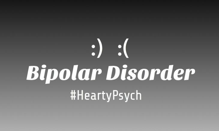 Banner carrying bipolar disorder as text