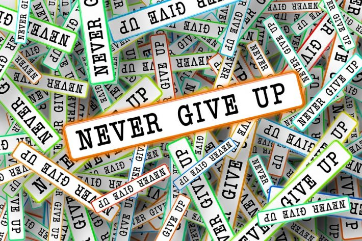 Never-give-up-strip